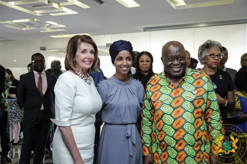 President Akufo Addo and Congress women